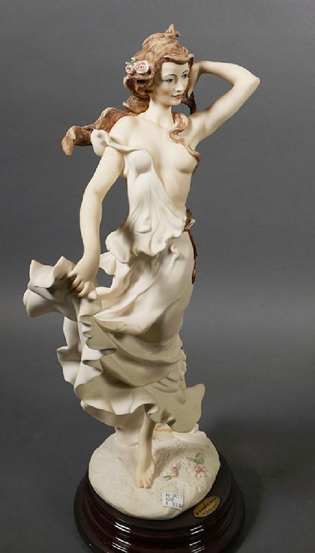 "Giuseppe Armani Sculpture ""Wisteria"" Draped Nude - 2"
