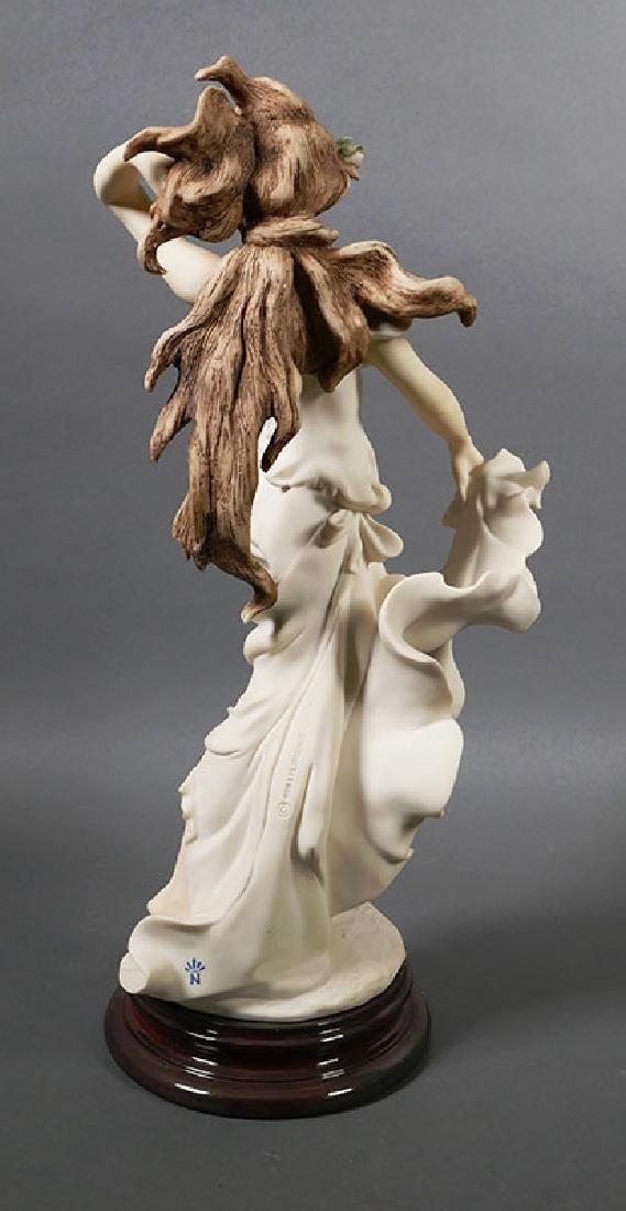 "Giuseppe Armani Sculpture ""Wisteria"" Draped Nude - 3"