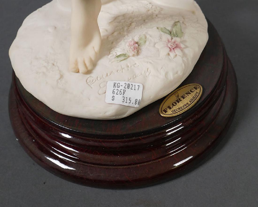 "Giuseppe Armani Sculpture ""Wisteria"" Draped Nude - 4"