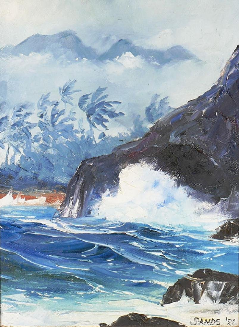 Stephen Sands Hawaiian Artist Painting