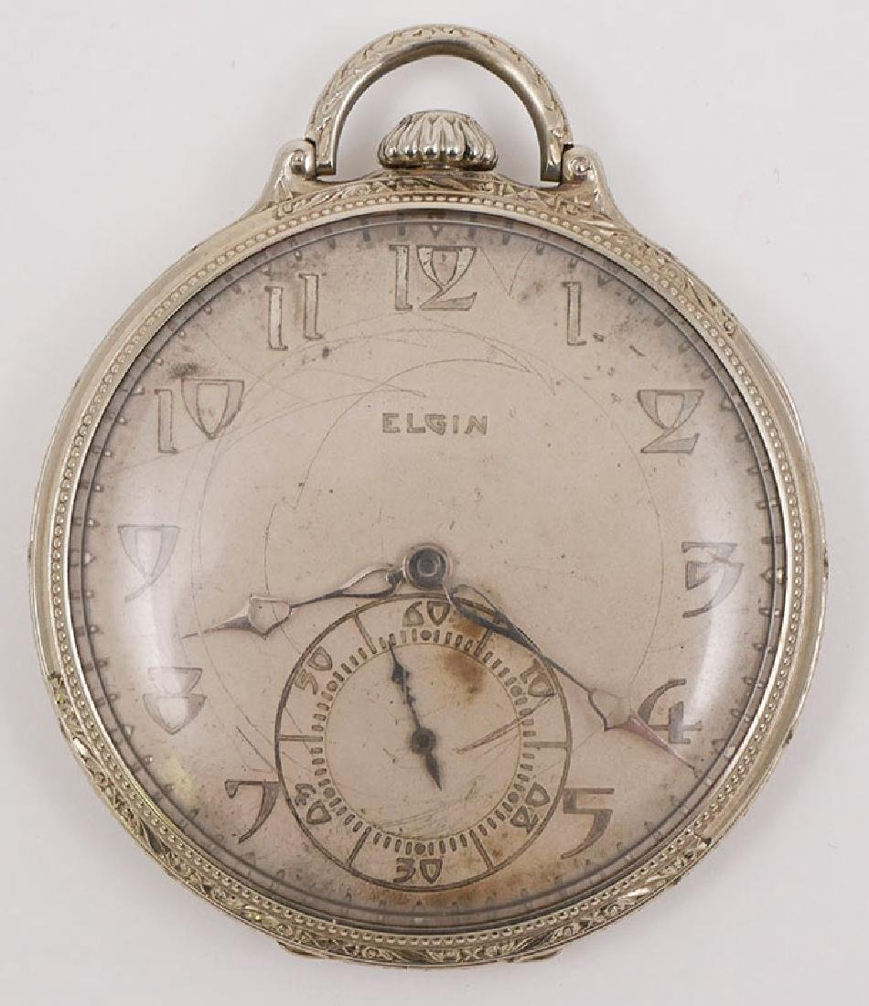 Elgin 14k Gold Pocket Watch 21 Jewel
