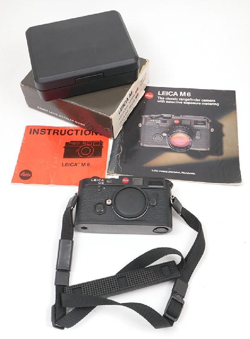 Leica M6 Classic 35mm Rangefinder Camera MIB