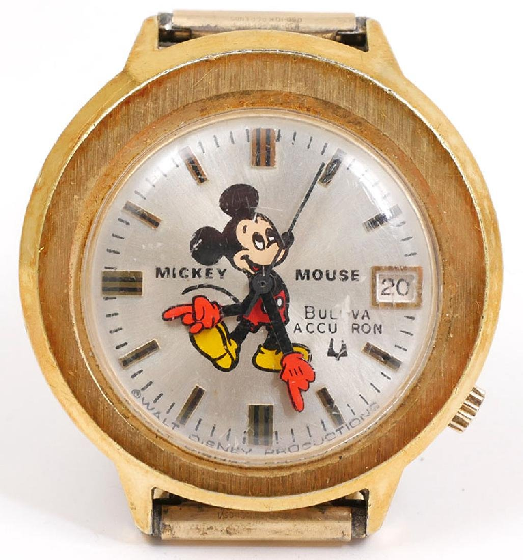 Vintage Bulova Accutron Mickey Mouse Watch
