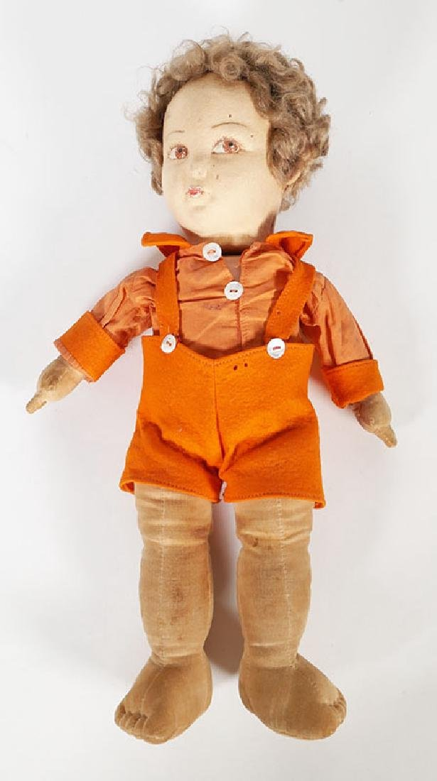 English Vintage Norah Wellings Felt Cloth Doll