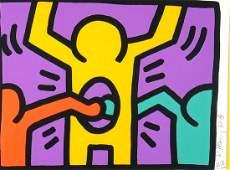Keith Haring Pop Shop I (Littmann p.83), 1987