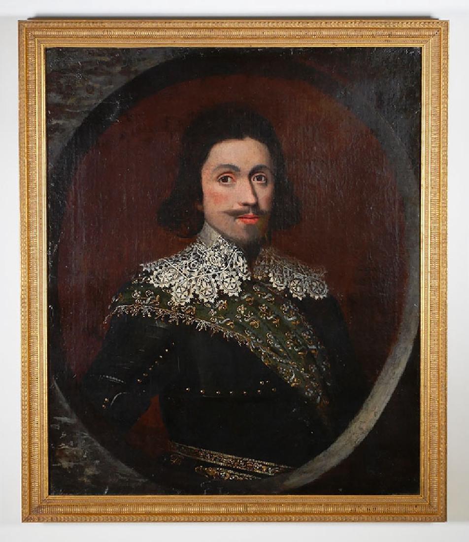 Gerrit Van Honthorst, Portrait of Frederick V