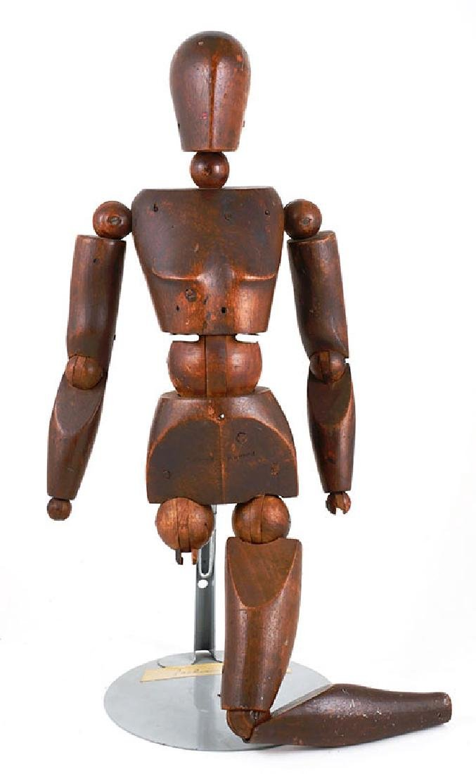 Turned Wooden Articulated Artist's Model 19C