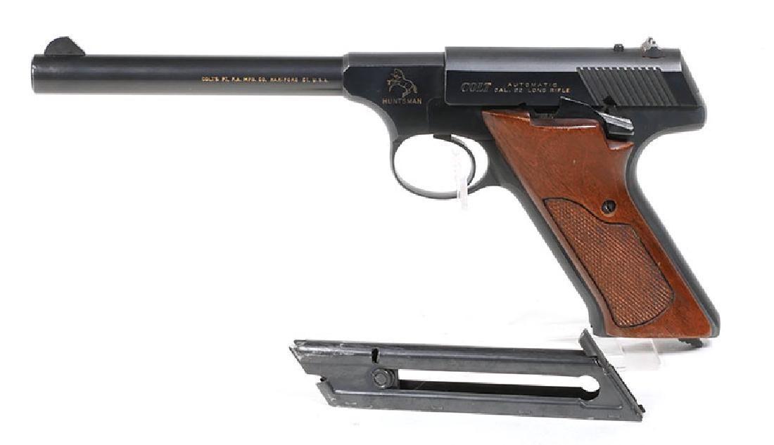 Colt Huntsman .22 Long Rifle Semi-Auto Pistol - Feb 10, 2018 | Blackwell  Auctions in FL
