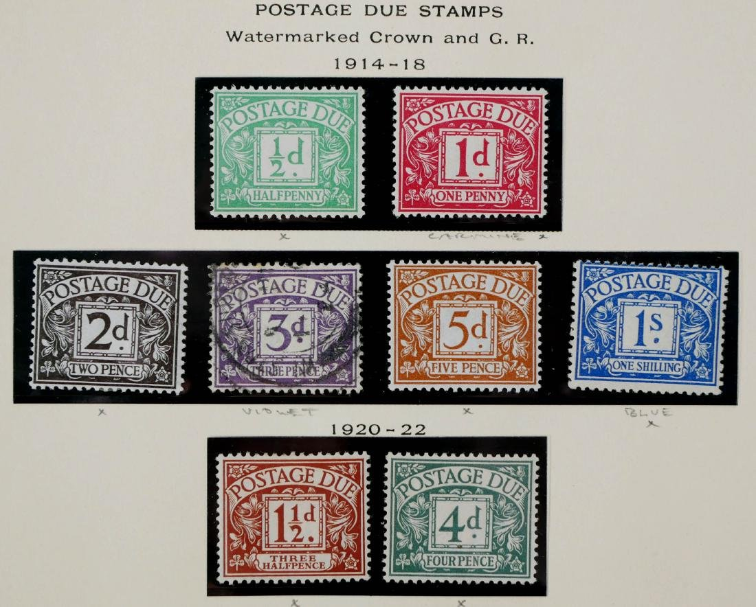 GREAT BRITAIN, 1914-37 Postage Due Stamps - 2