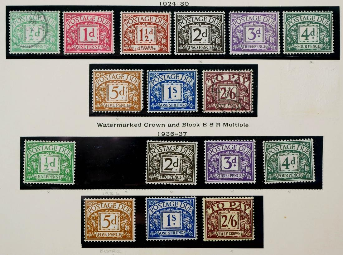 GREAT BRITAIN, 1914-37 Postage Due Stamps - 3