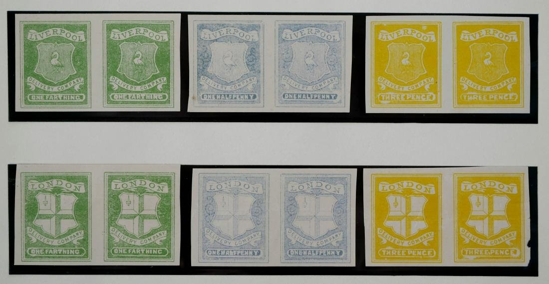 GREAT BRITAIN, Local Issues, Unissued? - 2