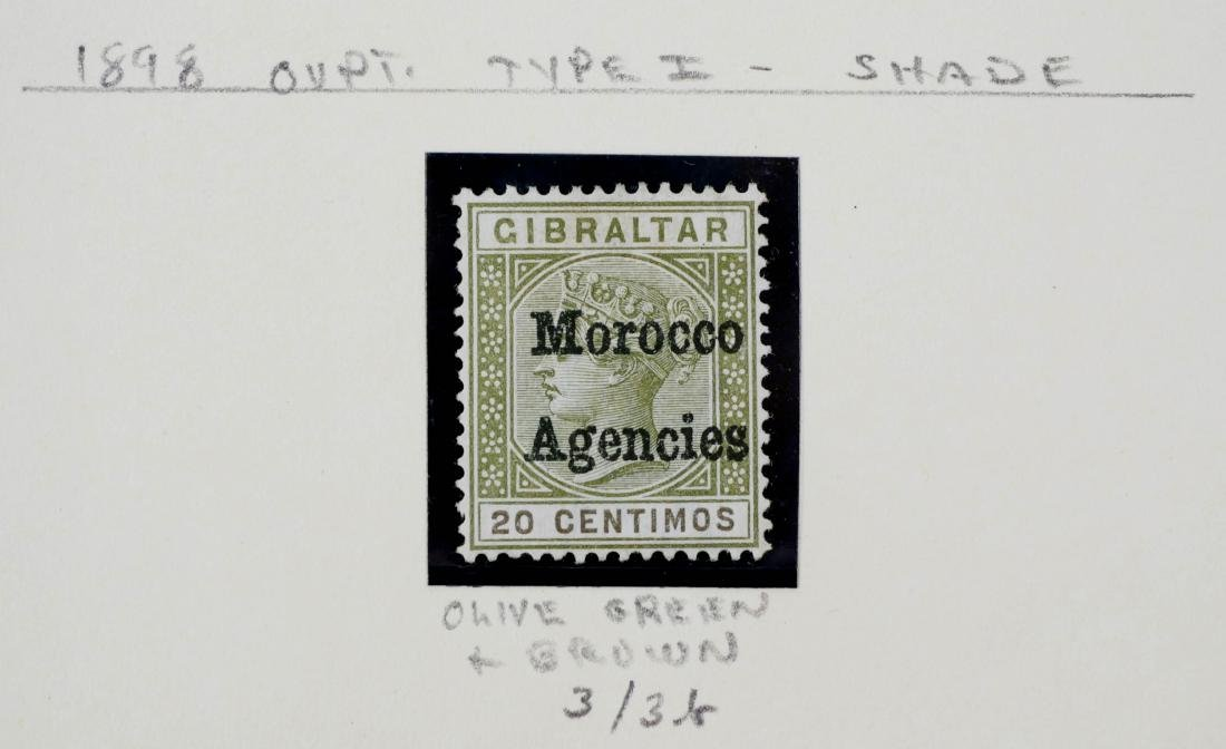 GREAT BRITAIN, Offices in Morocco 1898 - 5
