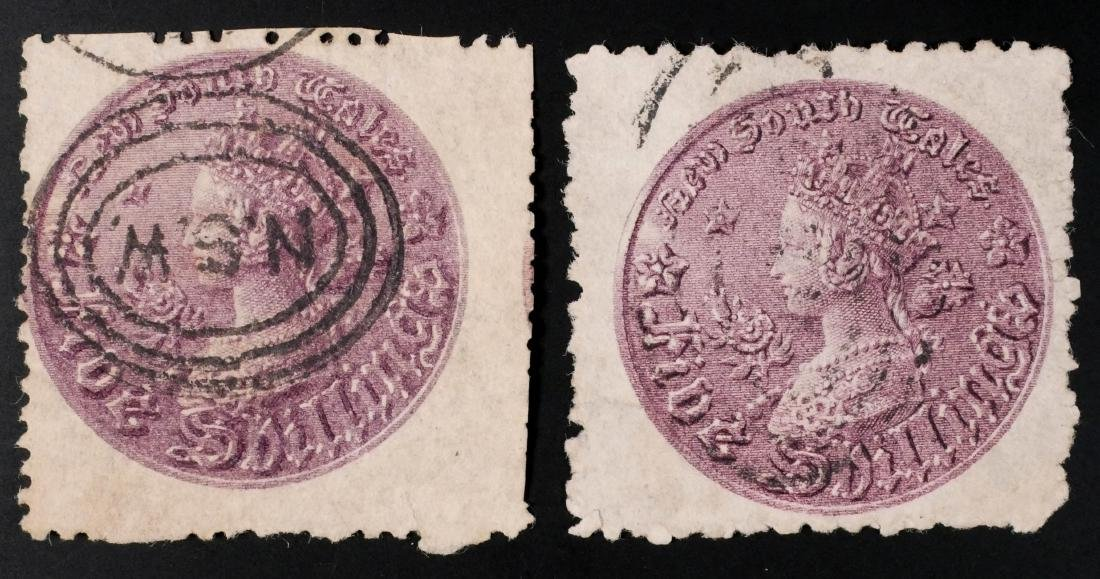 NEW SOUTH WALES, 1861-80, #44 #44d