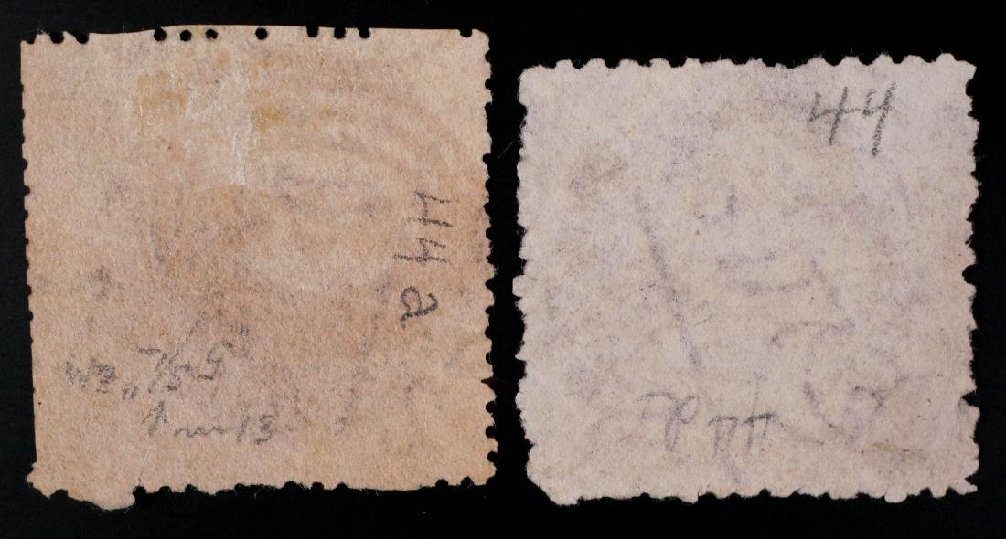 NEW SOUTH WALES, 1861-80, #44 #44d - 2