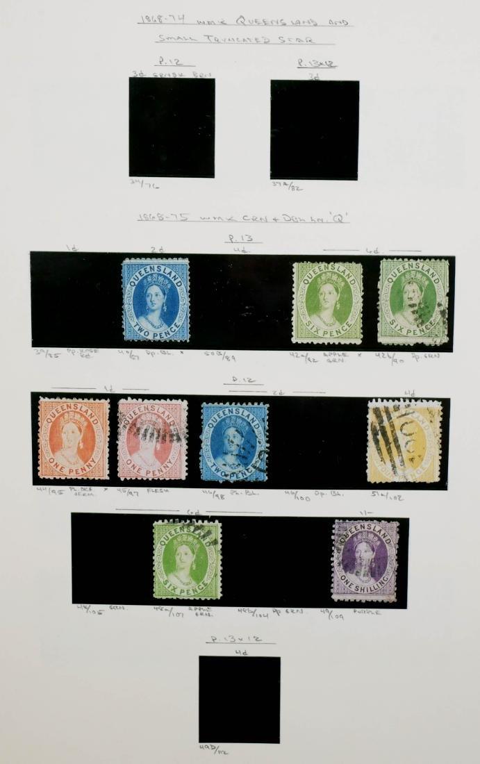 QUEENSLAND, 1868-75, CV $400