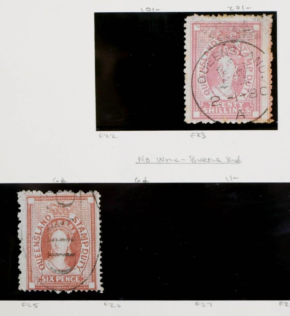 QUEENSLAND, 1871-72 Seven Postal Fiscals - 3