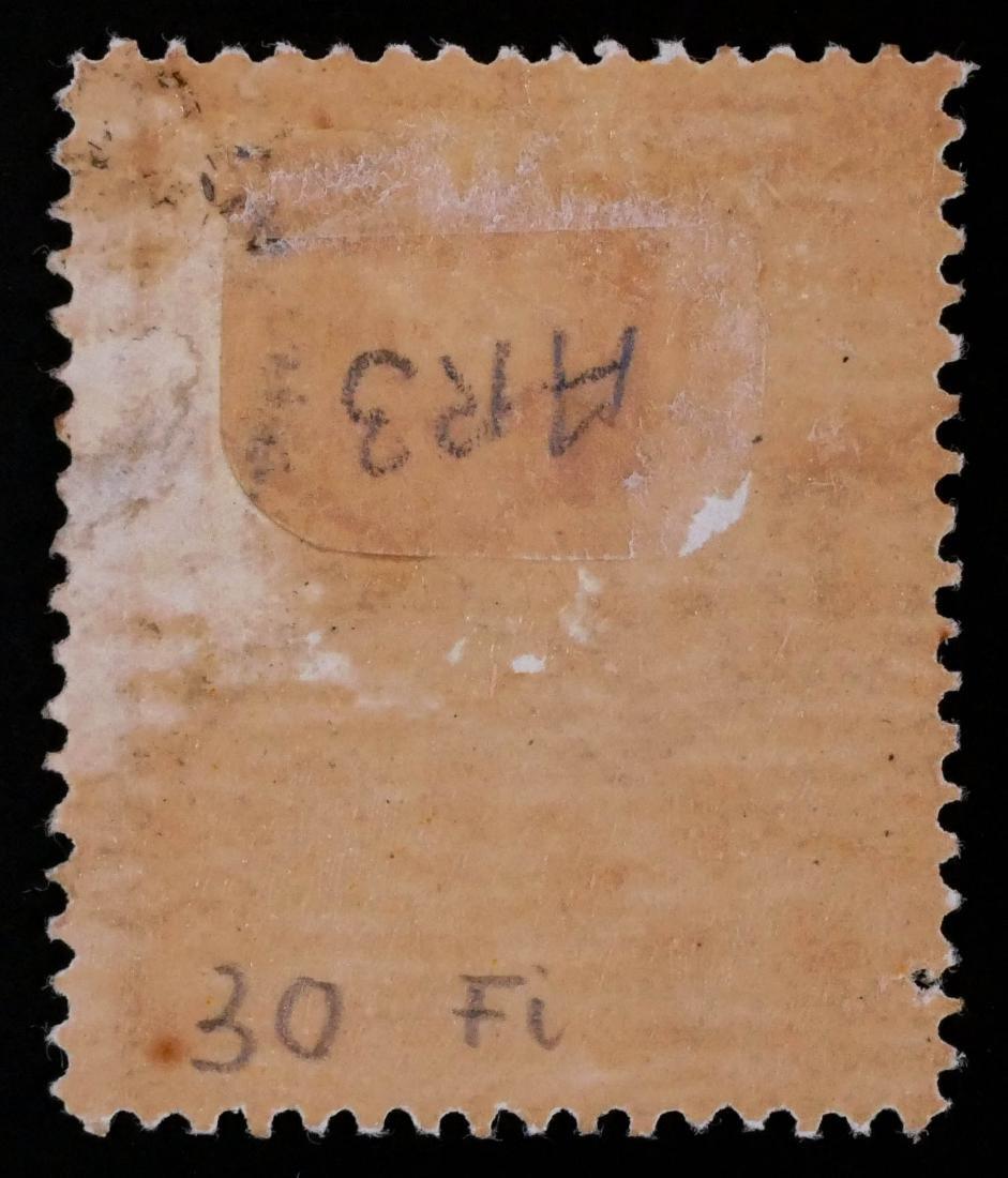VICTORIA, Postal Fiscal 2sh6p yellow, AR38a - 3