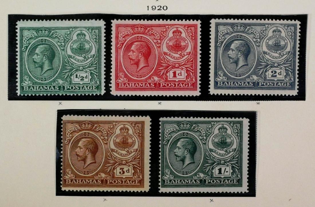 BAHAMAS, 1917-19, set #58-62