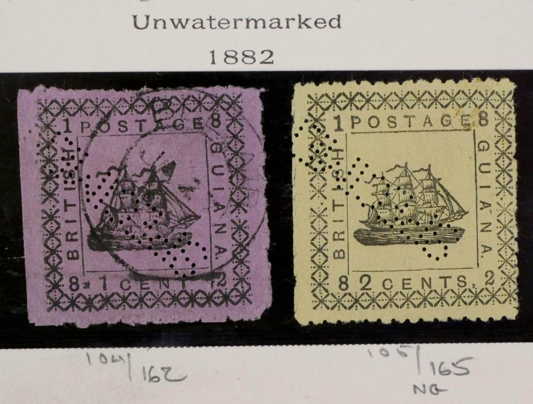 BRITISH GUIANA, 1882 #104 105