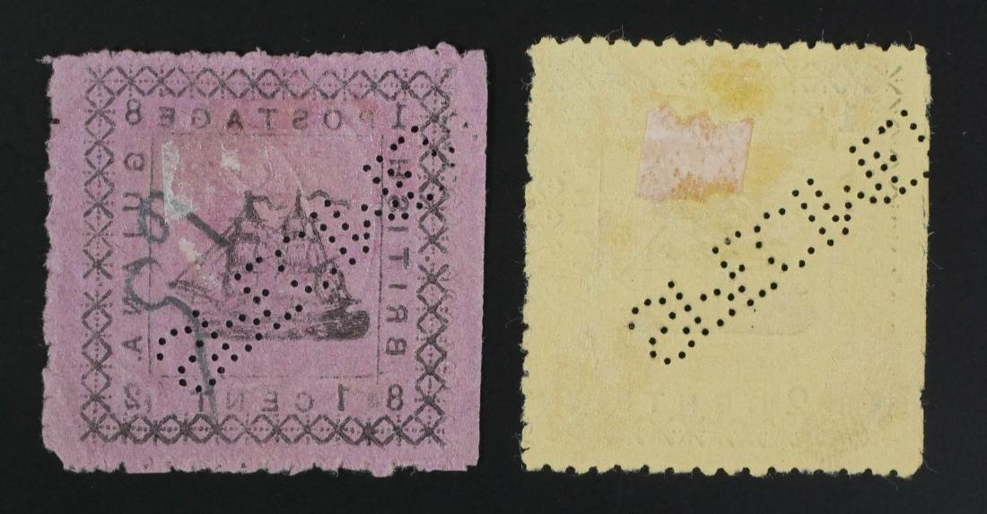 BRITISH GUIANA, 1882 #104 105 - 3