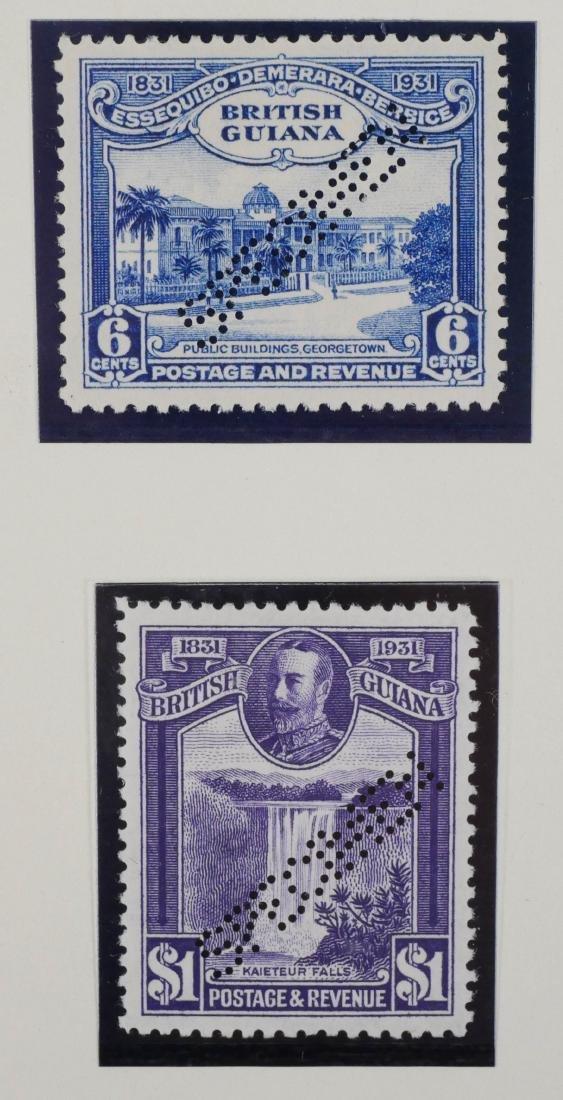 BRITISH GUIANA, 1931 Centenary Perf Specimen Set - 3