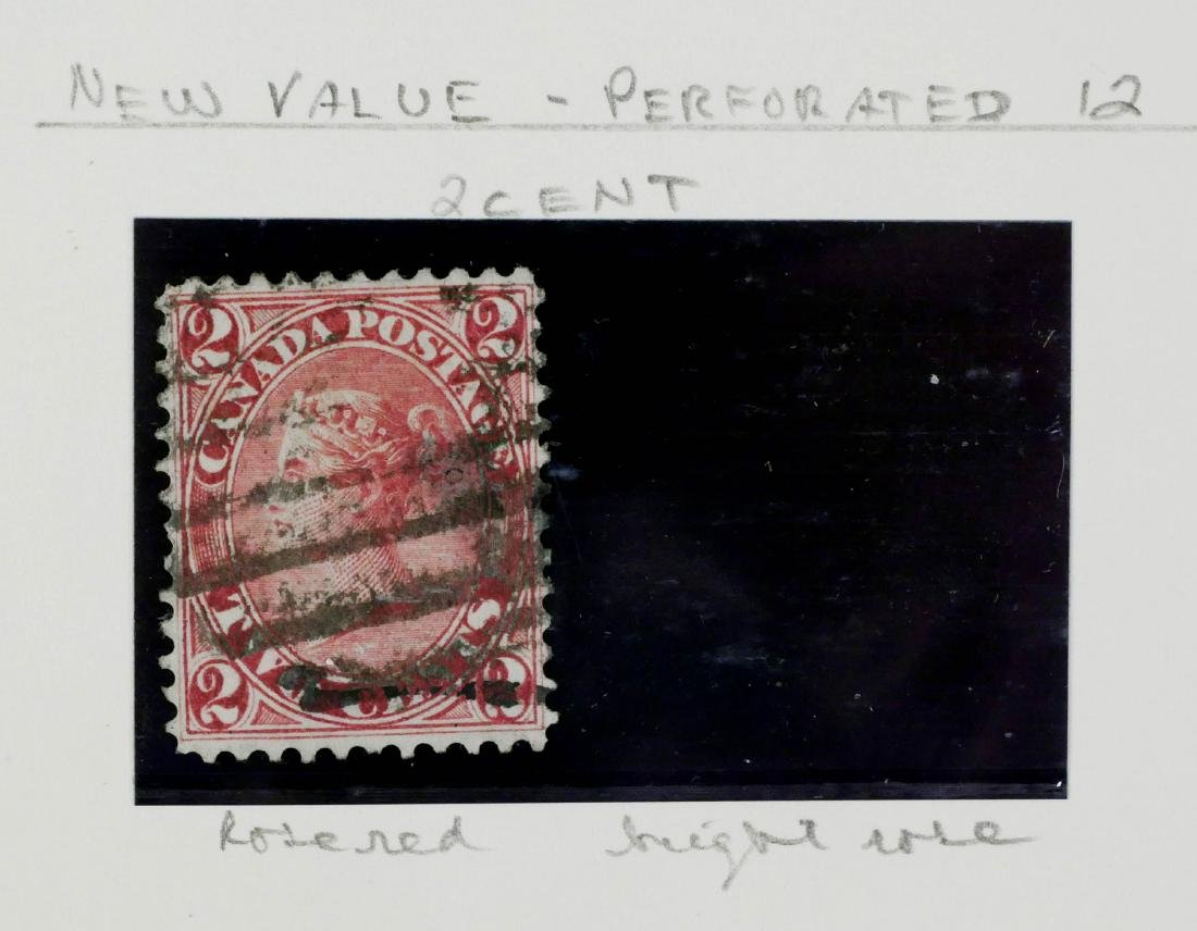 CANADA, 1864 2c rose #20