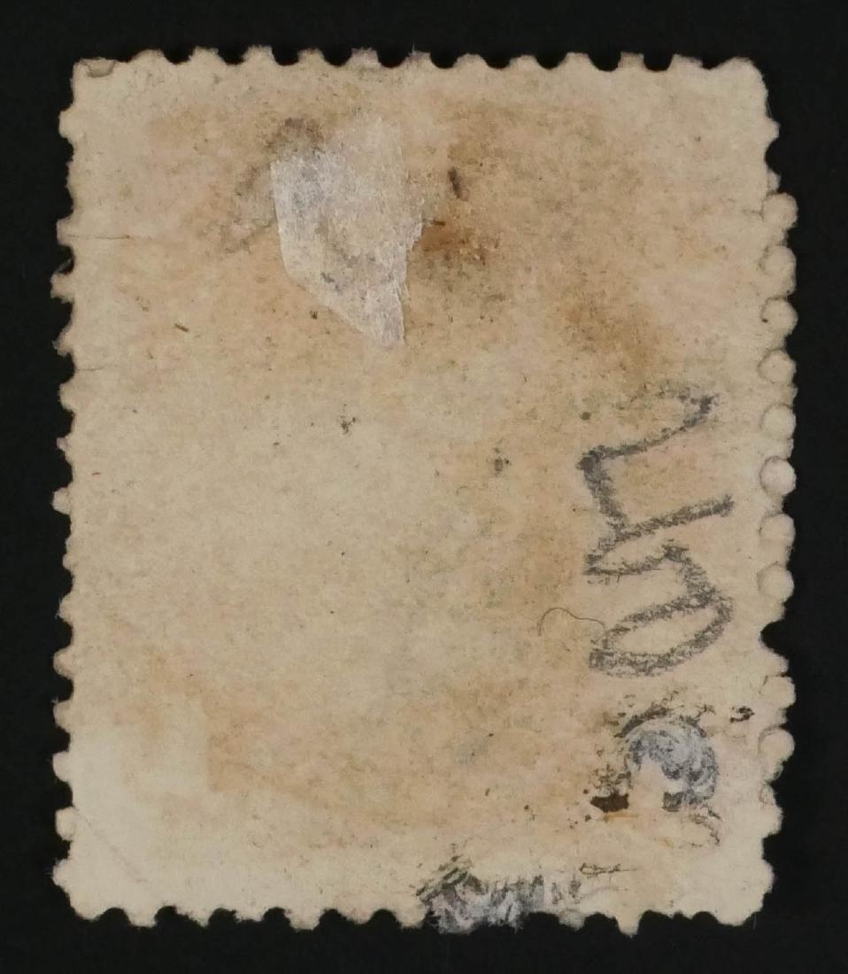 CANADA, 1868 1c Yellow Orange - 3