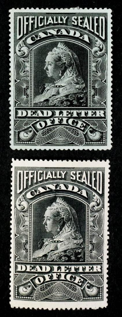 CANADA, Dead Letter Office OX2 OX3
