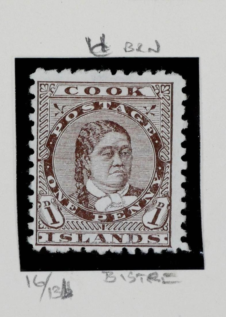 COOK ISLANDS, 1893-98, 6 examples - 3