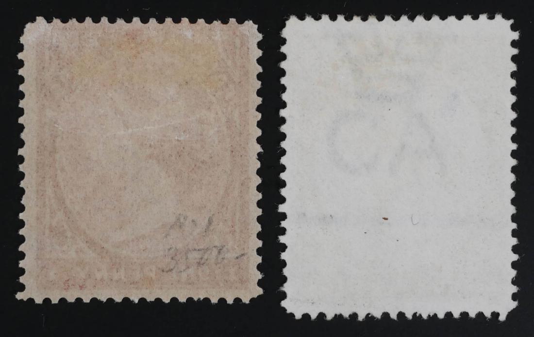 FALKLAND ISLANDS, 1884 #5a 6a - 3