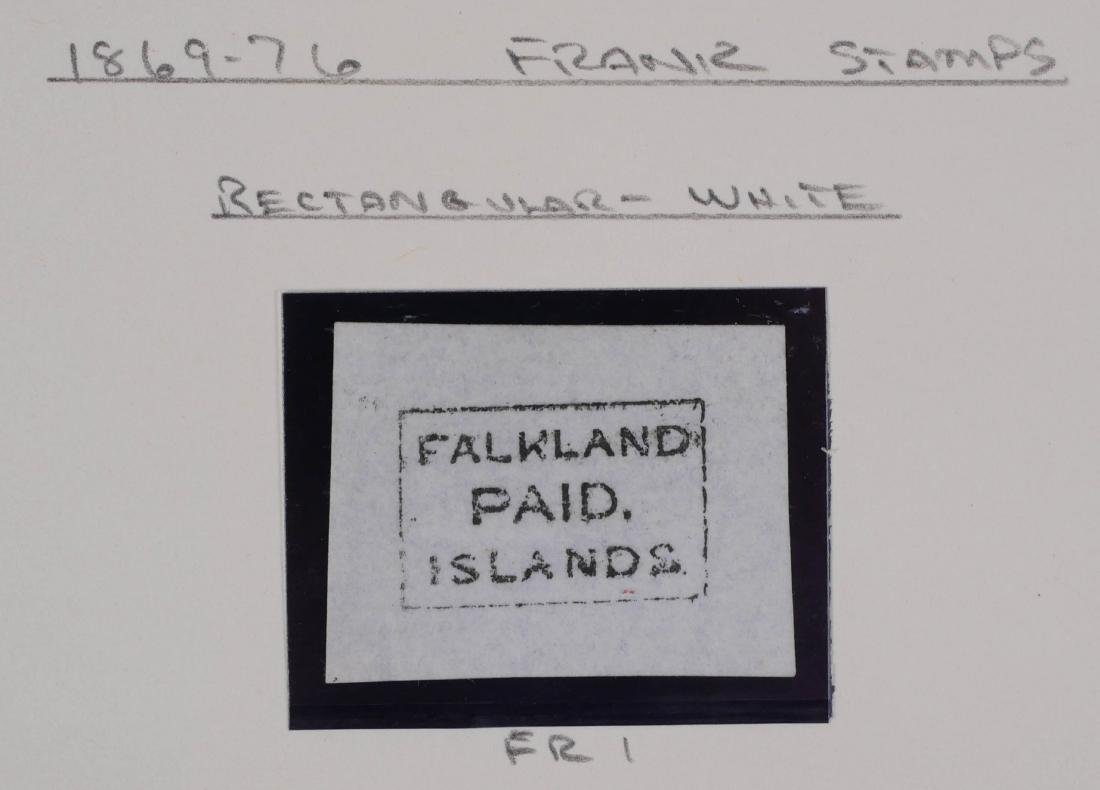 FALKLAND ISLANDS, 1869-76 Frank Stamp FR1