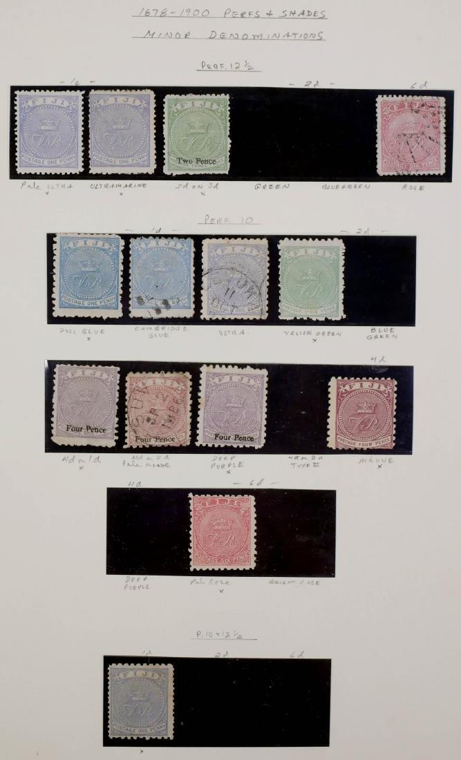 FIJI, 1878-1900 Varieties