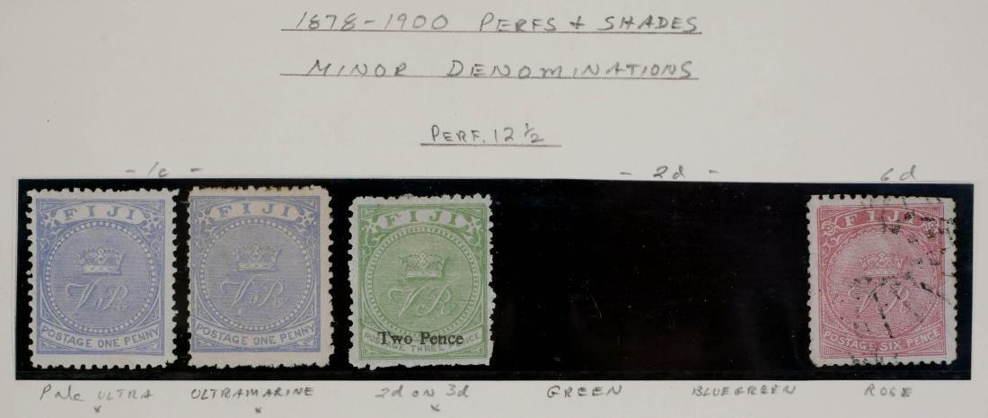 FIJI, 1878-1900 Varieties - 2