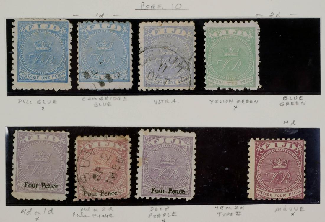 FIJI, 1878-1900 Varieties - 3