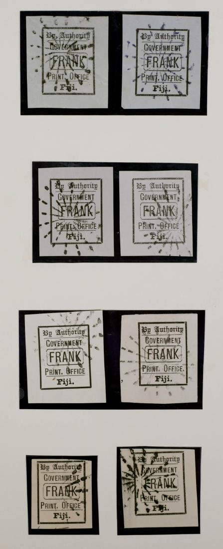 FIJI, Government Frank Stamps
