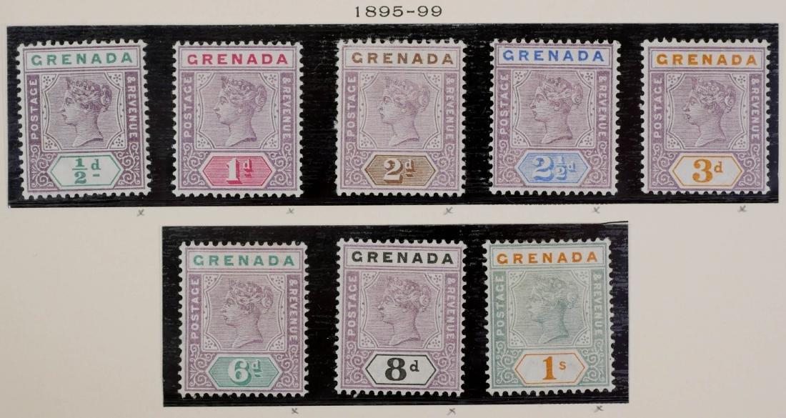 GRENADA, 1886-98, Surcharges etc. - 5