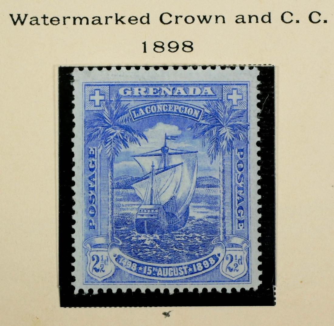 GRENADA, 1886-98, Surcharges etc. - 6