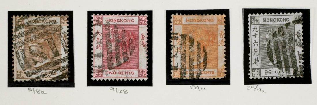 HONG KONG, 1866-85 Shanghai Treaty Port, 14 Stamps - 3