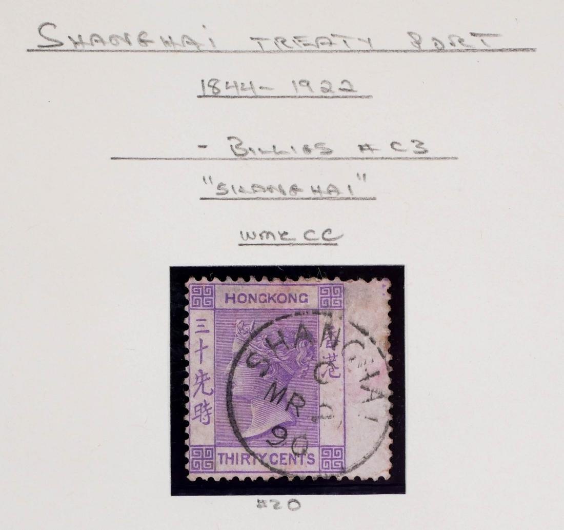 HONG KONG, Shanghai Treaty Port, 13 Stamps - 2
