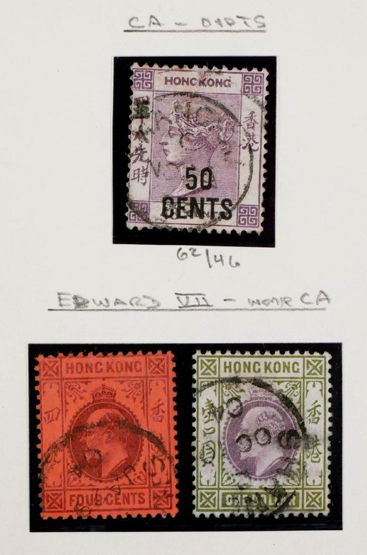 HONG KONG, Shanghai Treaty Port, 13 Stamps - 4