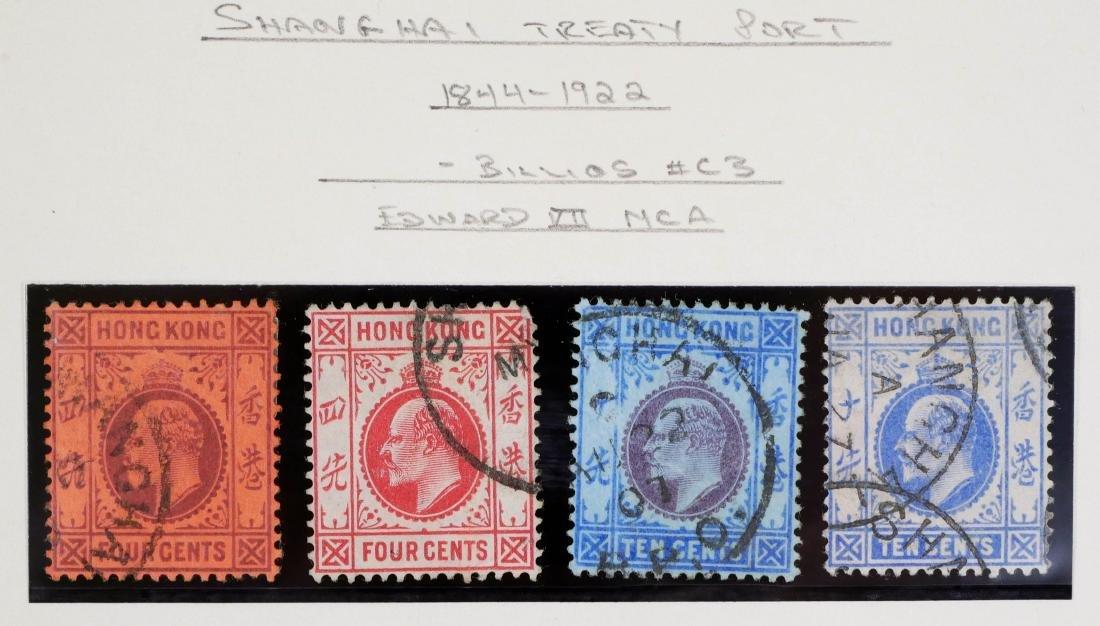 HONG KONG, Shanghai Treaty Port, Local Post, 10 - 2