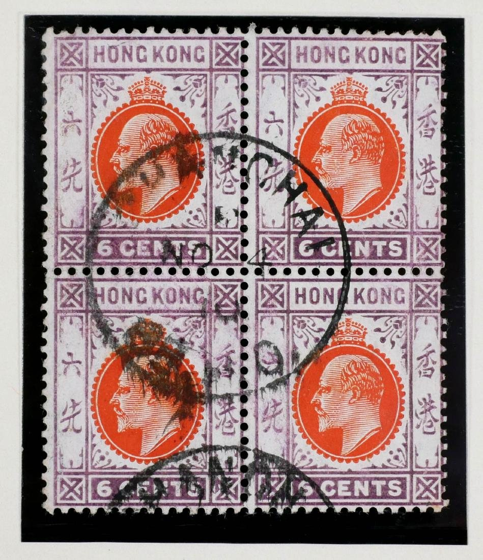 HONG KONG, Shanghai Treaty Port, Local Post, 10 - 3