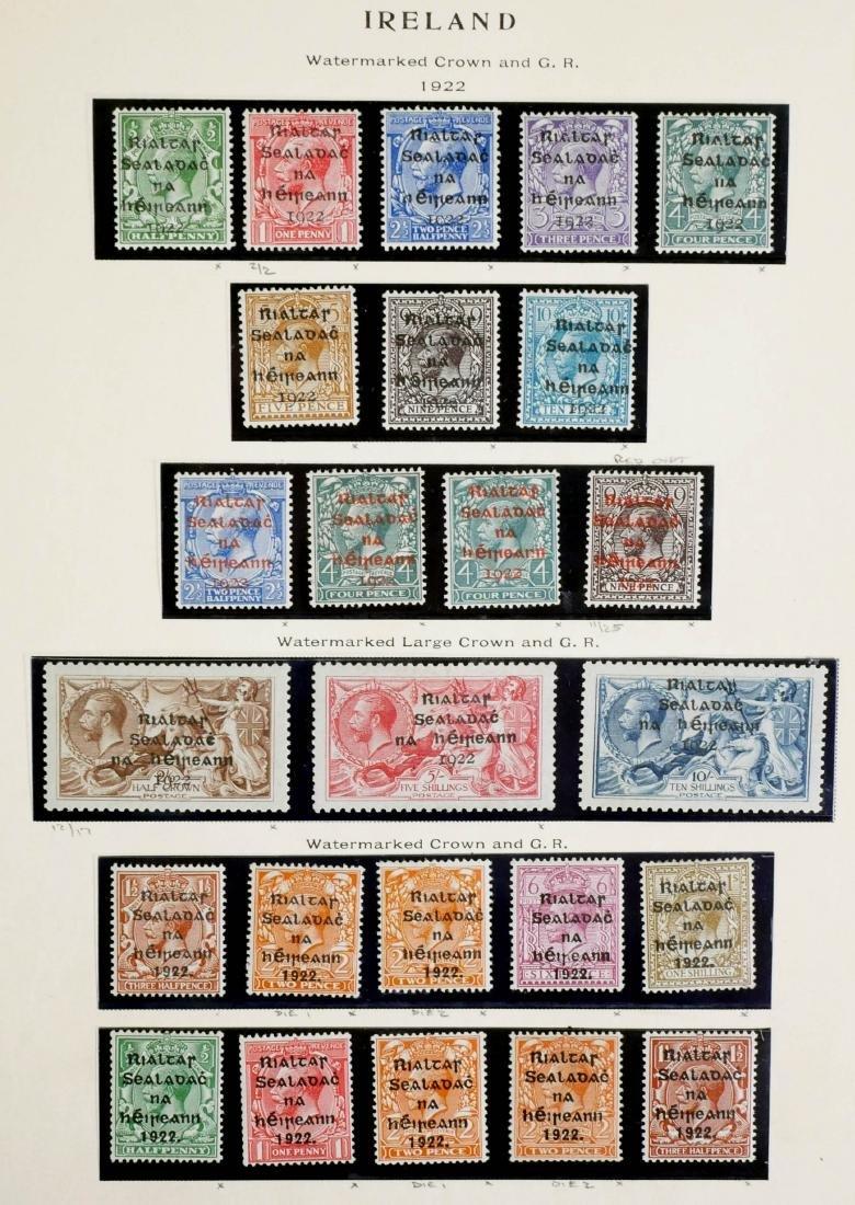 IRELAND, 1922, complete incl #12-14 unused CV $600