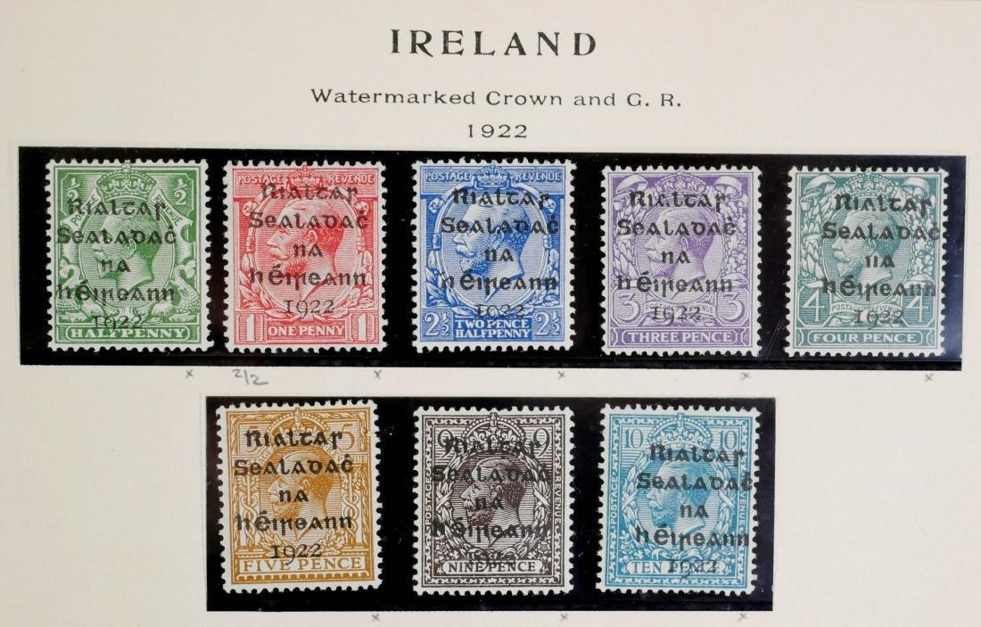 IRELAND, 1922, complete incl #12-14 unused CV $600 - 2