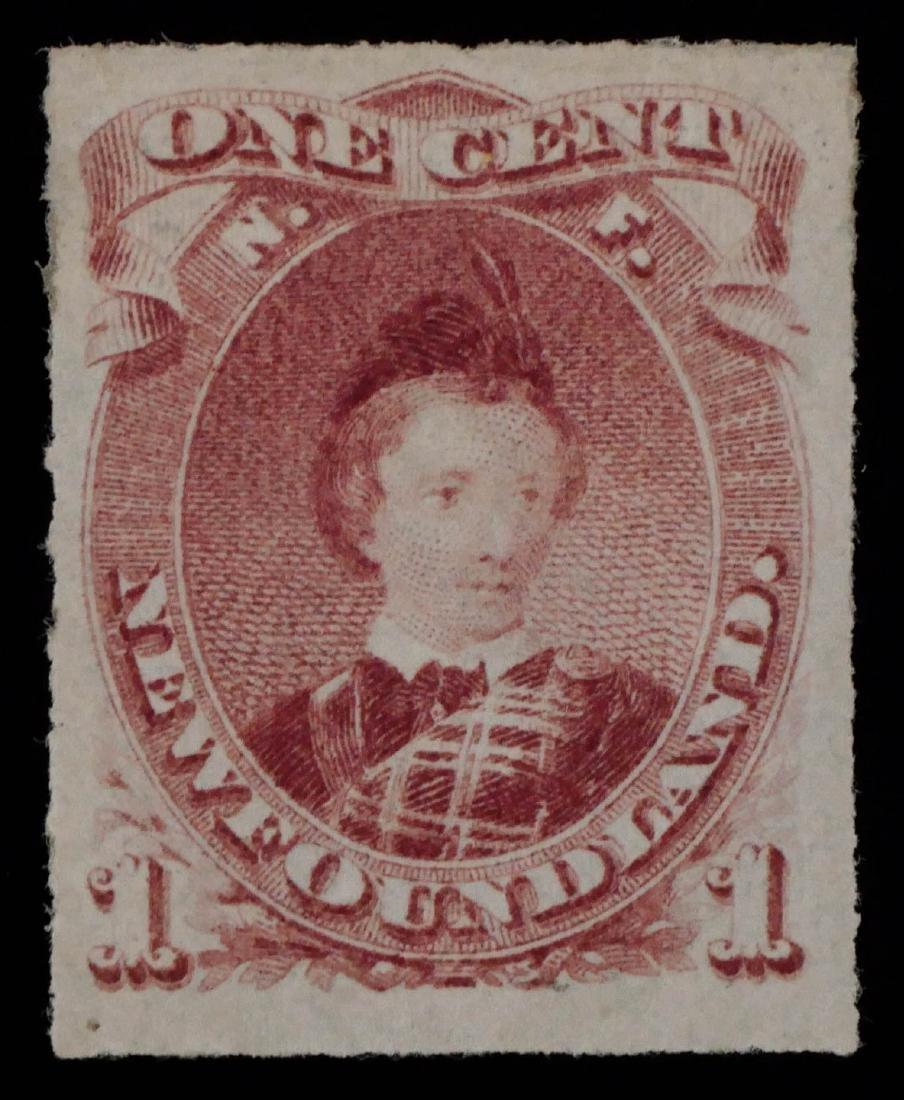 NEWFOUNDLAND, 1876-79, 1c brn lilac #37