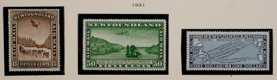 NEWFOUNDLAND, Air Post Stamps 1931-32, C6-C12 - 2