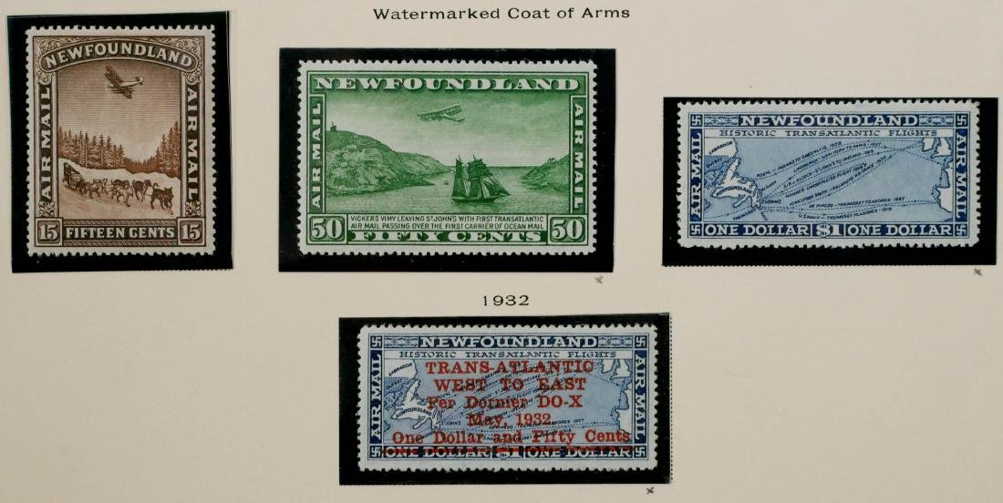 NEWFOUNDLAND, Air Post Stamps 1931-32, C6-C12 - 3