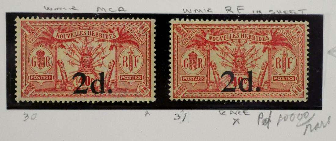 NEW HEBRIDES, 1920-21 #30-31 unused