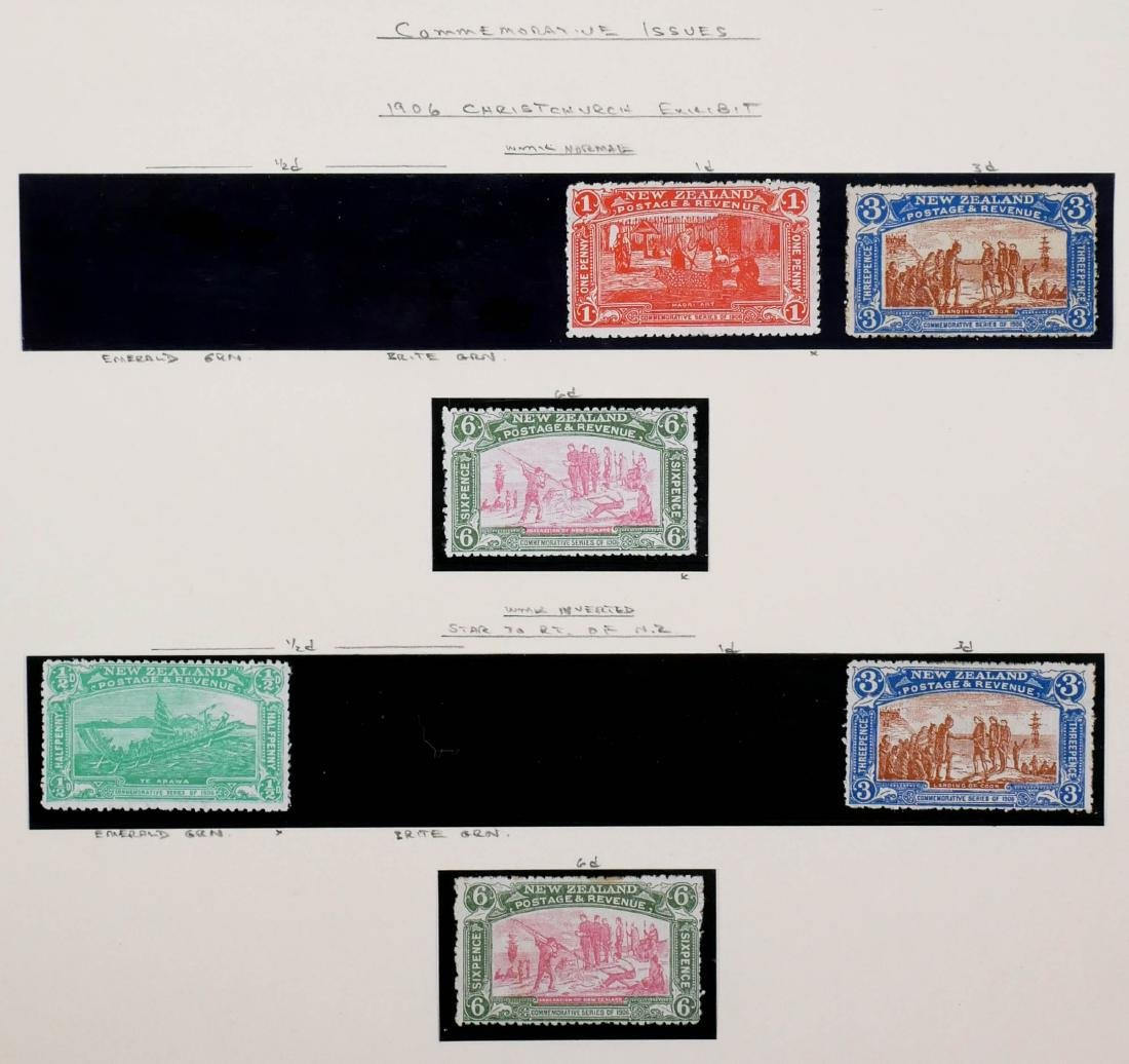 NEW ZEALAND, 1906 Christchurch Exhibition CV $600