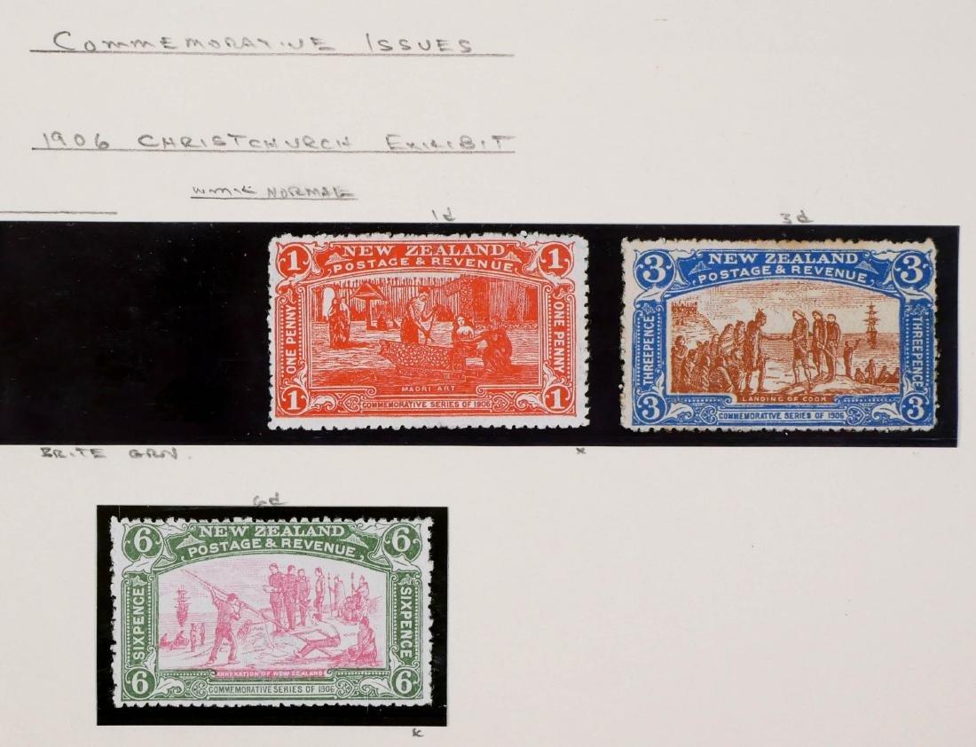 NEW ZEALAND, 1906 Christchurch Exhibition CV $600 - 2